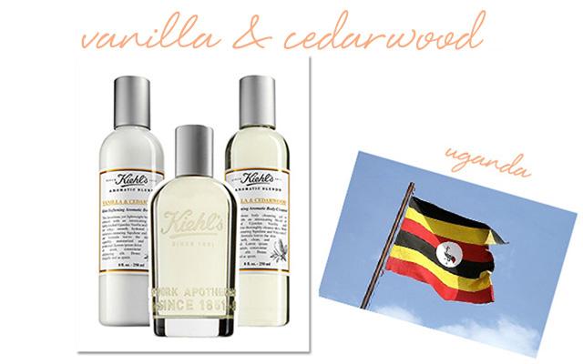 Kiehl's Vanilla & Cedarwood Skin-Softening Lotion, Fragrance and Skin-Softening Cleanser