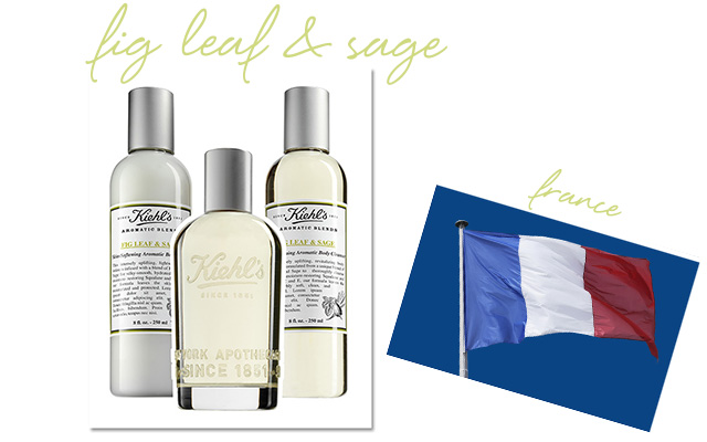 Kiehl's Fig Leaf & Sage Skin-Softening Lotion, Fragrance and Skin-Softening Cleanser
