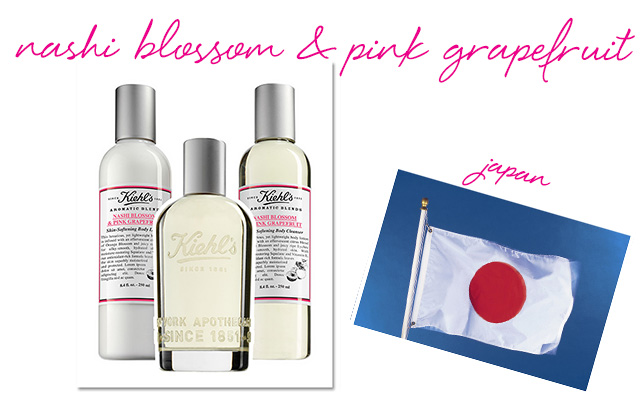Kiehl's Nashi Blossom & Pink Grapefruit Skin-Softening Lotion, Fragrance and Skin-Softening Cleanser
