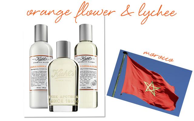 Kiehl's Orange Flower & Lychee Skin-Softening Lotion, Fragrance and Skin-Softening Cleanser