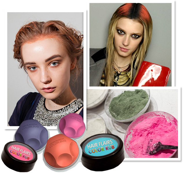 Phots by Mat Szwajkos for Beauty Blitz (top left and bottom right) and Redken (top right)