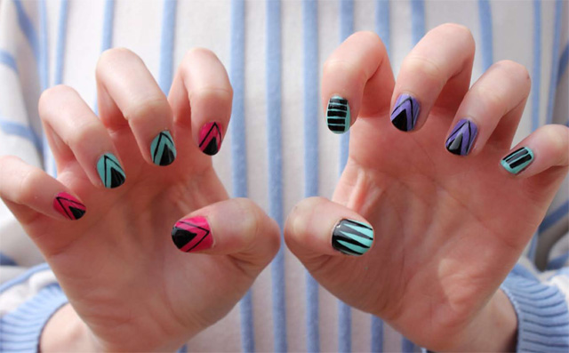 Diy nail art tribal inspired designs beauty blitz what youll need prinsesfo Gallery