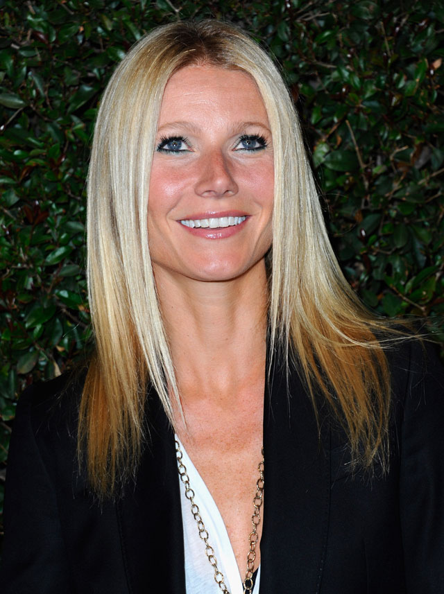 Gwyneth Paltrow recently debuted dip-dyed ends. Photo by: Getty Images