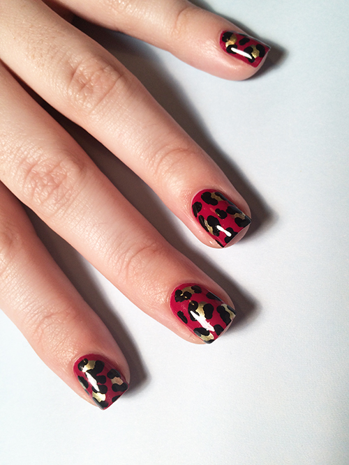 Pull Off This Leopard Print Manicure with 3 Polishes and Minimal ...