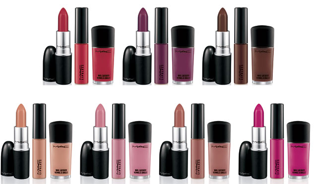 From top left: Russian Red, Rebel, Chestnut, Myth, Snob, Spice, Girl About Town