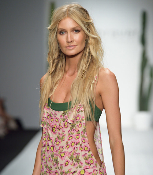 21425bda86 How to Create the Sexiest Boho Beach Hair from Miami Swim Week ...