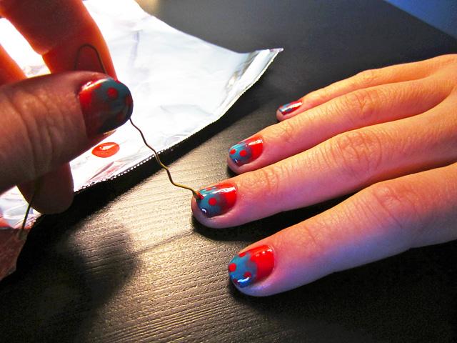 Nice Ysl Nail Polish Review Thick Opi Glitter Nail Polish Names Round Organic Nail Polish Ingredients Permeable Nail Polish Young Nails Art Stamping YellowSimple Nail Art Ideas For Beginners Nail Art DIY: Polka Dot Gradient | Beauty Blitz