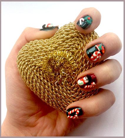 Klutz Proof Holiday Nail Art From Nail Rock Beauty Blitz