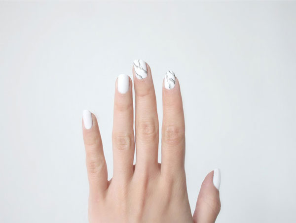 Match Your Nails To Your Kitchen Countertops With This Cool Nail Art