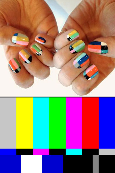 Nail art image via Nylonmag.com