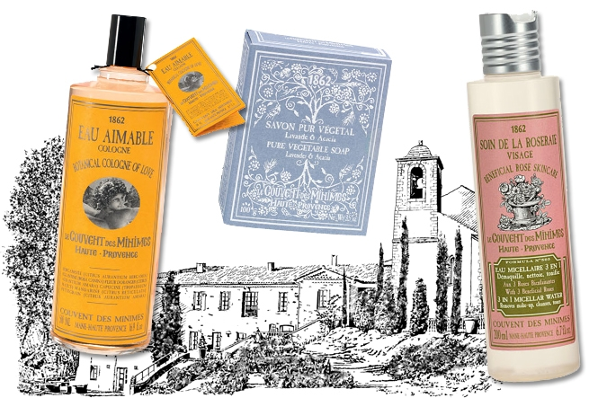 Escape to the south of france with le couvent des minimes for Le couvent des minimes parfum