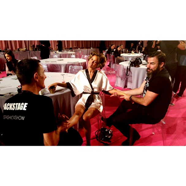 98ac6216 Beauty Spoilers: Backstage at the Victoria's Secret Fashion Show ...