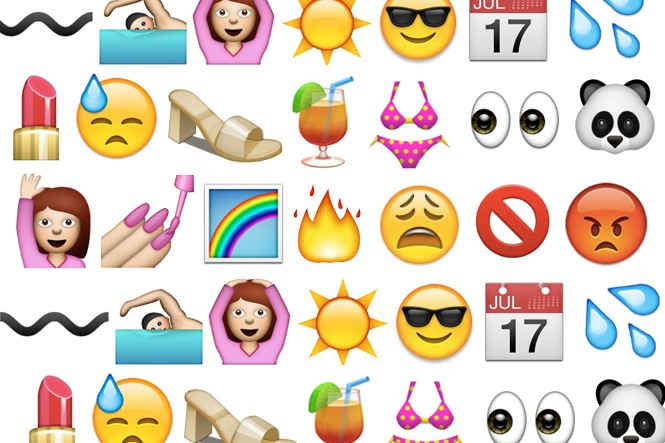 How To Speak Emoji The Summer Edition Beauty Blitz