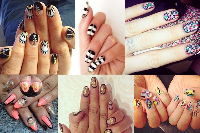 Where To Find The Best Nail Art On Instagram Klaudia Tirico