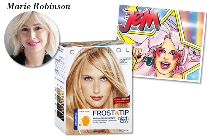 Clairol Nice N Easy Frost Tip Hair Color Cream For Dark Blonde To