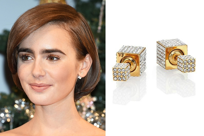 Earring Revealing Celebrity Hairstyles Bling