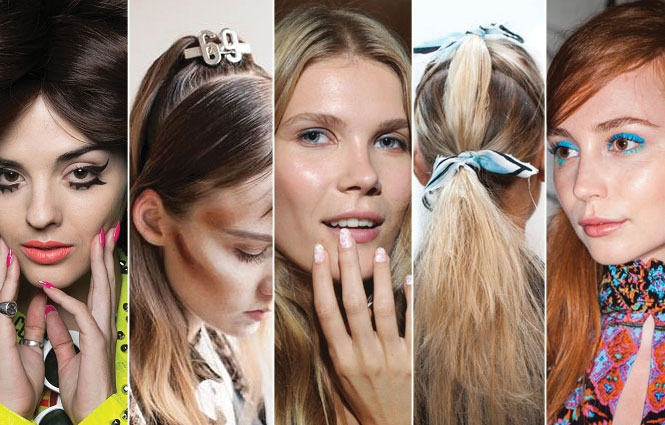 Spring 2017 Beauty Trend Report How To Wear Glitter: 8 Spring 2016 Trends From New York Fashion Week To Try Now