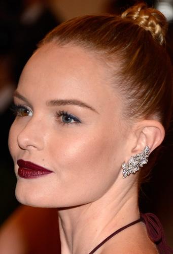 Kate Bosworth S Aubergine Lip Beauty Blitz