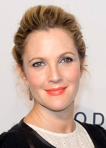 Drew Barrymore Pairs Orange Drew Barrymore