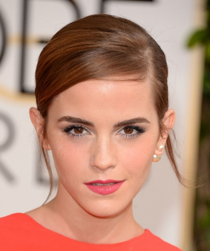 Get The Look Emma Watsons Not Too Matchy Lip Was