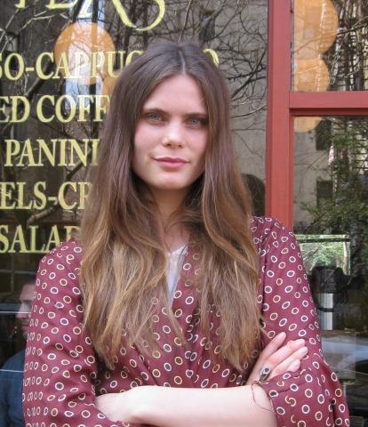 Adina Fohlin; photo by Jane Kirby