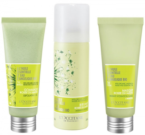 L'Occitane's new Angelica products