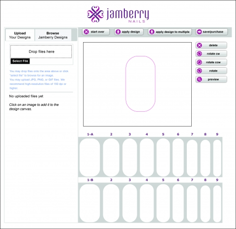 Our Love For Nail Wraps Has Officially Gone Extreme With This New Customization Tool From Utah Based Wrap Company Jamberry Nails