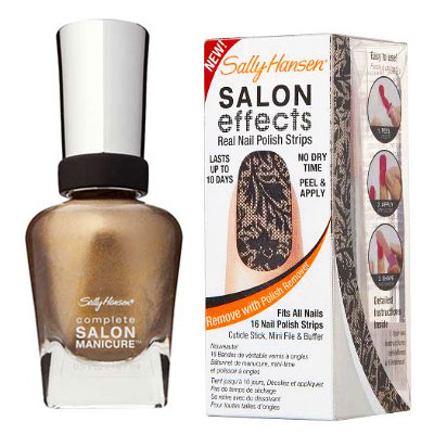 Sally Hansen Complete Manicure Guilty Pleasure Salon Effects in All Laced Up