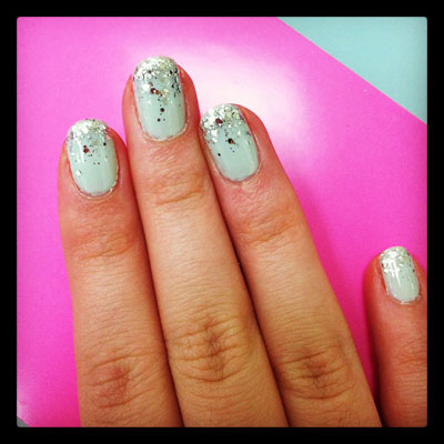 Glitter Ombre Nail Art with Essie Luxeffects   Beauty Blitz