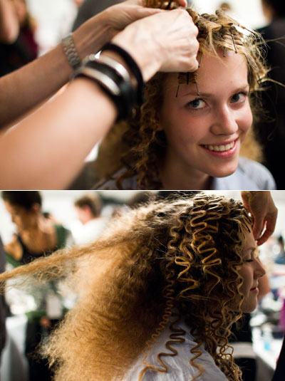 We Learned That The Fuzzy Do Is Doable On Any Hair Texture Provided You Have Skill And Patience To Rickrack Your Strands Many Dozens Of Bobby