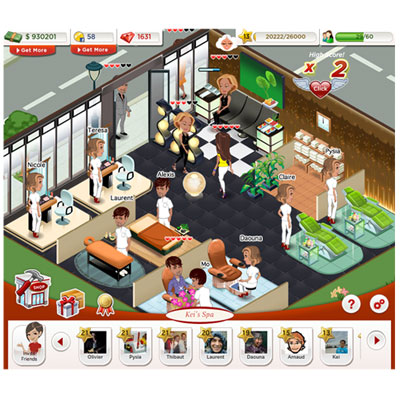 Farmville for the Beauty Obsessed?   Beauty Blitz